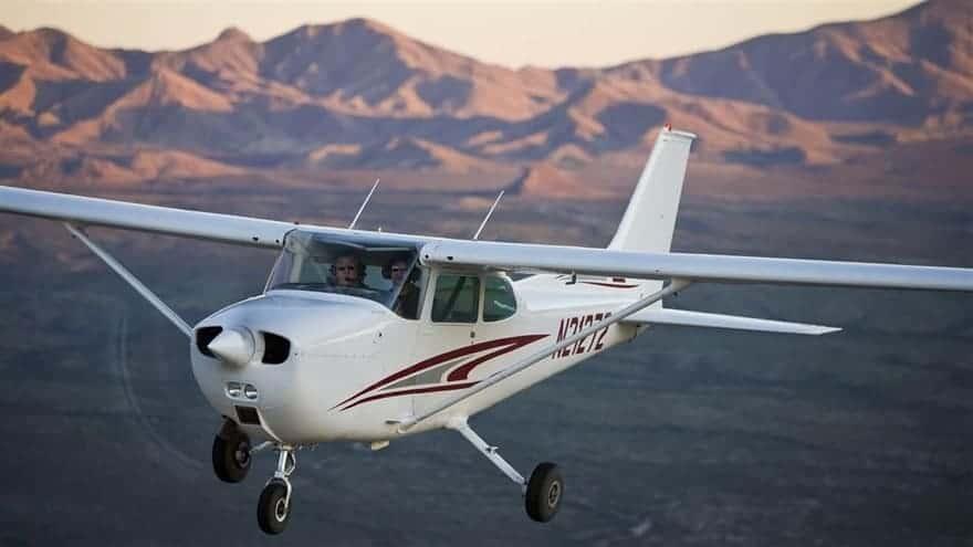 Cessna 172 repülő