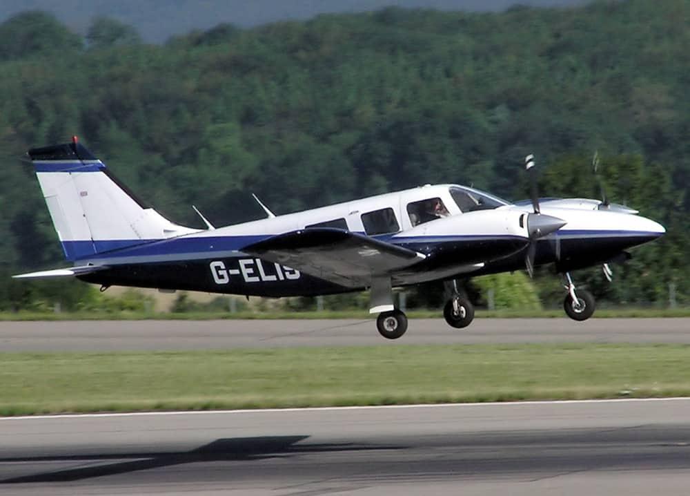 Piper 34 repülő