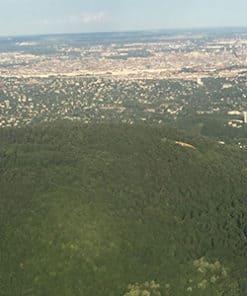 Budai hegyek repülőből