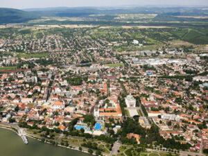 Dunakanyar sétarepülés Vác fölött