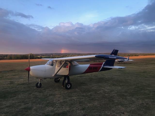 HA-BHG Cessna 159