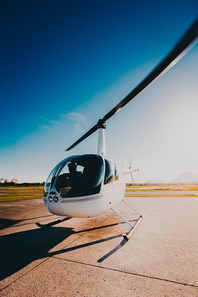 helikopteres repülés